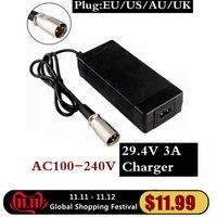 29 4 v 3a do carregador de bateria de série 7 29 4 v 3a carregador de bateria de 24 v Acessórios portáteis de iluminação     -