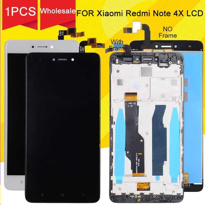 Korting Promotie Voor Xiaomi Redmi Note 4X Lcd Touch Screen Panel Glas Digitizer Vergadering Note 4 Display Global Versie