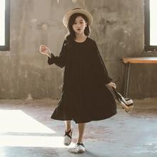 新 2020 女の子白綿緩いドレスキッズドレス女ベビープリンセスドレス子供服韓国人格、 #5341