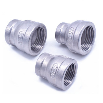 1/8 1/4 3/8 1/2 3/4 1 1-1/4 1-1/2 BSP female to female Thread Reducer 304 Stainless Steel Pipe Fitting Connector Adpater
