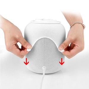 Эластичный текстильный сетчатый защитный чехол легко установить смарт-динамик использовать портативный практичная замена против царапин для HomePod