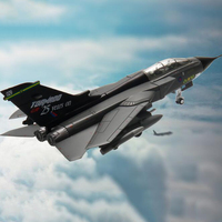 1/100 scale Panavia Tornado Fighter airplane military Metal aircraft Static model toy adult children toys for show collections