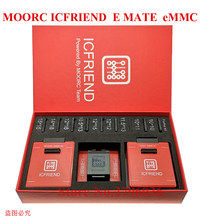 New MOORC High speed E-MATE X E MATE BOX EMATE EMMC BGA 13in 1 for 100 136 168 153 169 162 186 221 529 254 Z3X Easy Jtag(China)