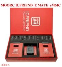 Nowy MOORC wysokiej prędkości E MATE X E MATE BOX EMATE EMMC BGA 13in 1 dla 100 136 168 153 169 162 186 221 529 254 Z3X łatwe Jtag