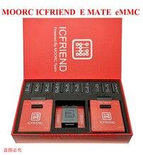Yeni MOORC yüksek hızlı E MATE X E arkadaşı kutusu EMATE EMMC BGA 13in 1 100 136 168 153 169 162 186 221 529 254 Z3X kolay Jtag