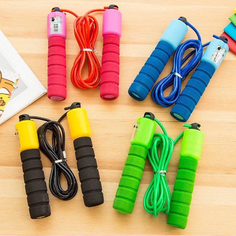 Baby Regulation Young STUDENT'S Children Sports Beginner-Count Jump Rope 8-Foot Single Person GIRL'S And BOY'S Unisex Jump