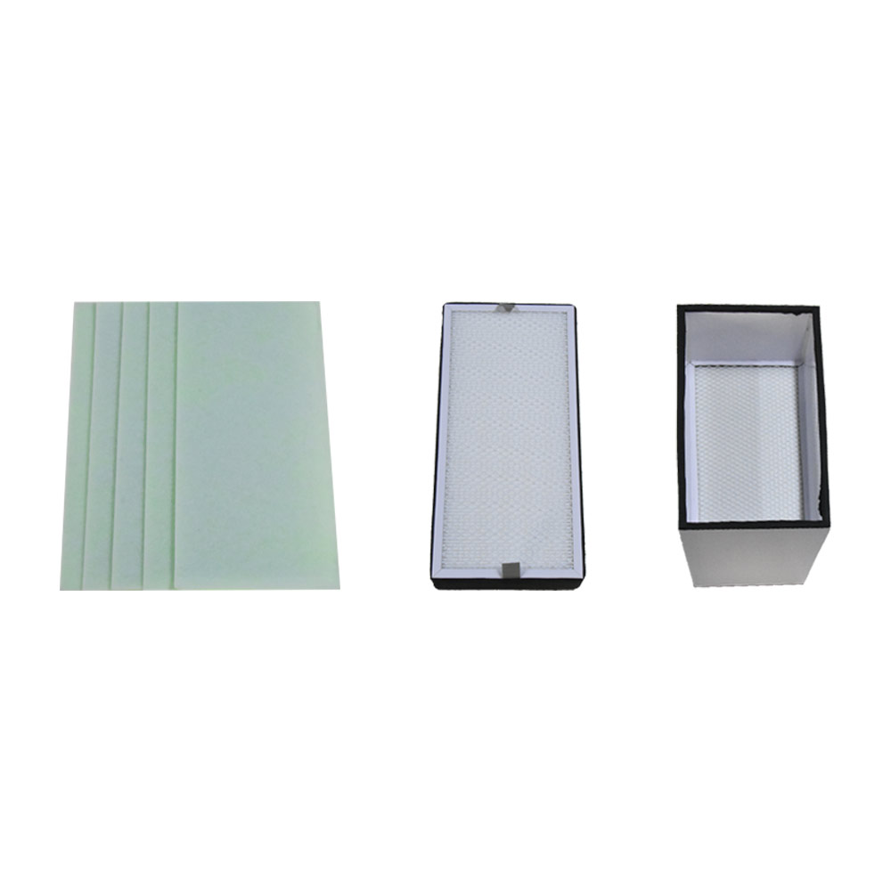 Filter Set For Smoke Purifier Machine Fume Extractor