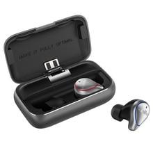 RU Mifo O5 TWS بلوتوث صغير 5.0 سماعات لاسلكية داخل الأذن سماعات أذن مضادة للماء ثلاثية الأبعاد صوت ستيريو مع صندوق شحن