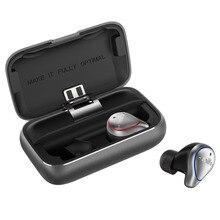 Ru mifo o5 tws mini bluetooth 5.0 in ear fones de ouvido sem fio à prova d3d água fones de ouvido estéreo 3d com caixa de carregamento