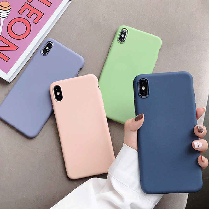 Fashion Soft Silicone Case for Samsung Galaxy Note 10 Pro A10 A20 A30 A40 A50 A60 A70 2019 S8 S9 S10 Plus S10e Slim Cover Case