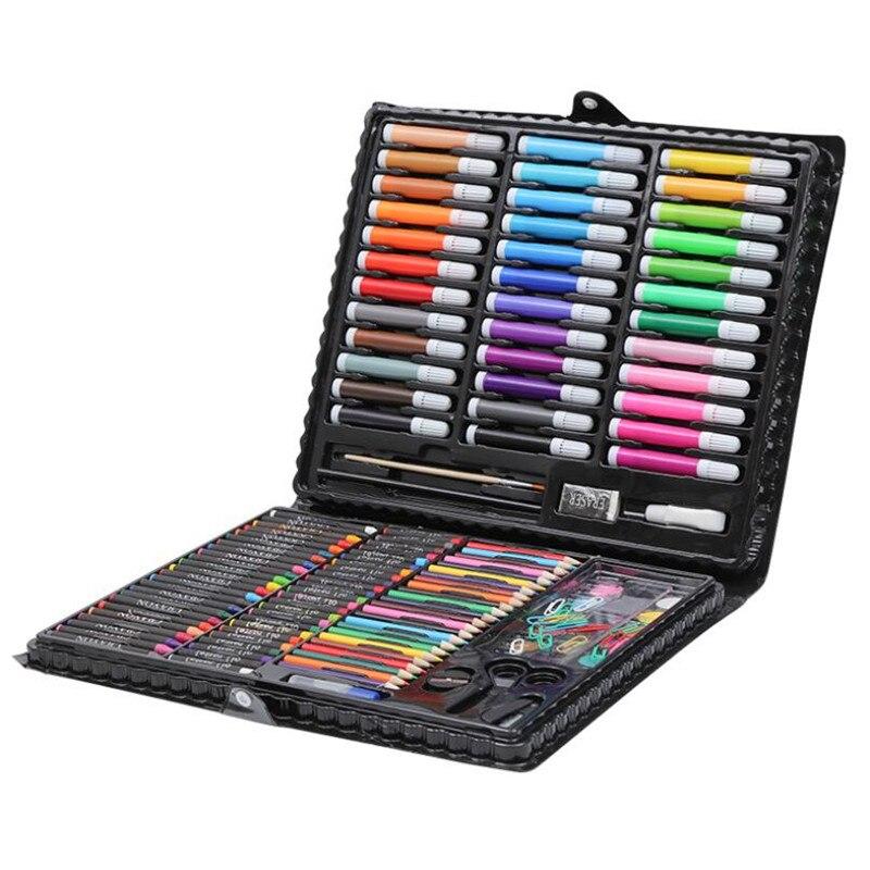 Kids Art Set Children Drawing Set Water Color Pen Crayon Oil Pastel Painting Drawing Tool Art supplies Stationery Set 150 Pcs