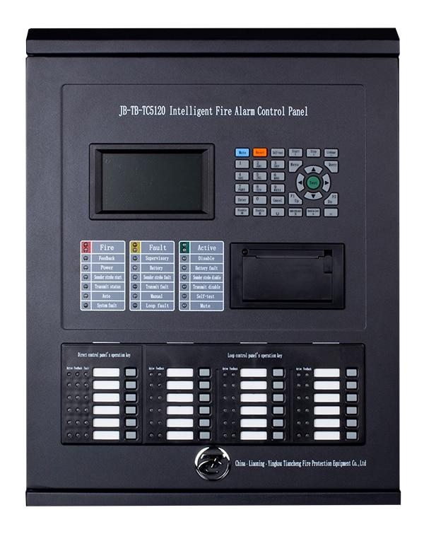 TC Addressable  Fire Alarm Control Panel  2  Loops For 510 Addressable  Points TC5120 Intelligent FACP