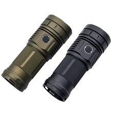 15000 Lumens 4x XHP50 / SST40 / XPL Glare LED Flashlight Typ