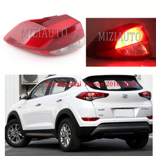 Out side Rear Tail Light Lamp For Hyundai Tucson 2016-2018 1PCS turn signal taillights Bumper Brake Car Styling