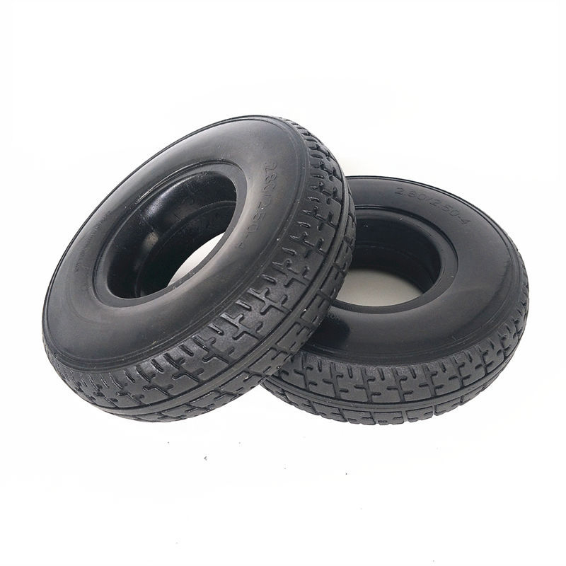 Solid Tire For Elder Mobility Scooter/ Battery/ Electric Wheelchair <font><b>2.80/2.50</b></font>-<font><b>4</b></font> image
