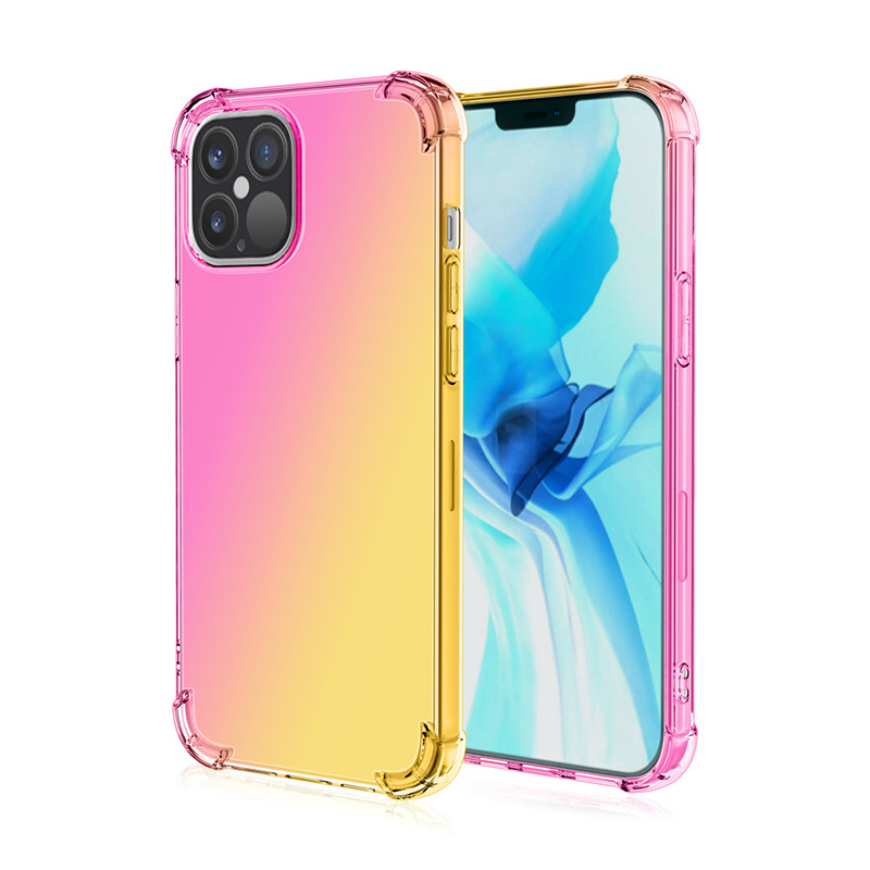 The Armour Drop Resistant Gradients Rainbow Case For iPhone 12 Series