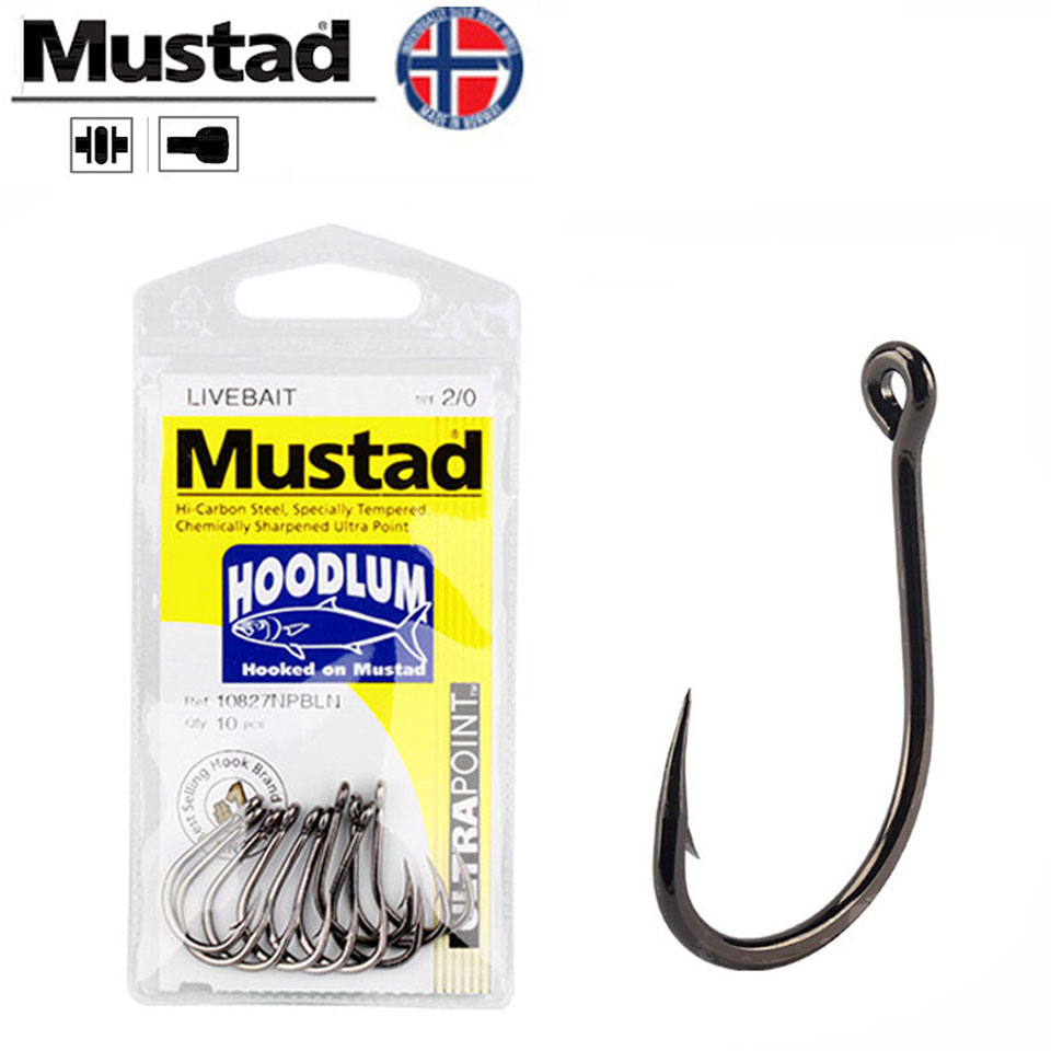30 GT 4x Super Strong Black Nickel Ringed Circle Fish Fishing Hooks size 1