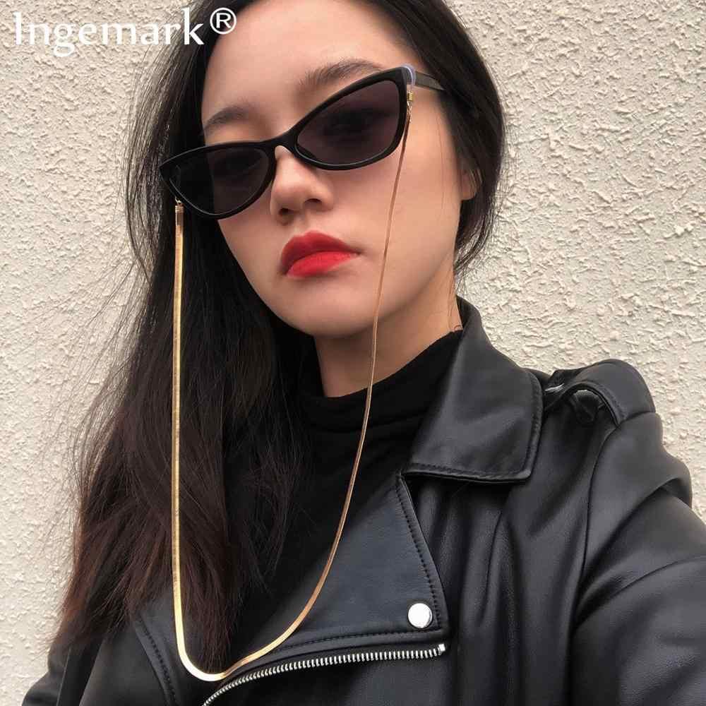 Corrente de óculos de leitura feminina, acessório de armação para óculos de sol, fecho de cobra, cinta de pescoço, novo, 2020
