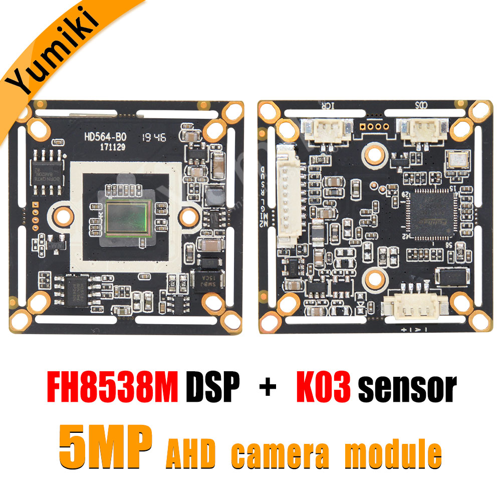 5MP 2704*1950 CCTV 5MP Camera Module Board CMOS HD AHD Camera Module FH8538M DSP+K03 Sensor