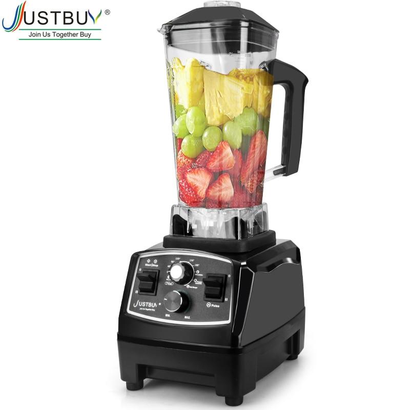 2200W Timer BPA Free Blender Mixer  Ice Crusher Smoothies Food Processor  Fruit Juicer Blenders    - AliExpress