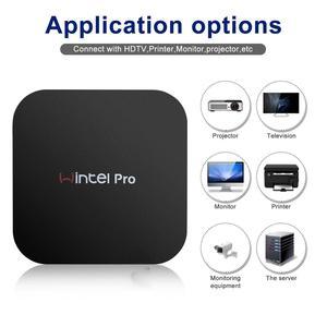 Image 5 - Wintel pro MINI PC intel atom X5 Z8350 1.92Ghz quad core 2 go/32 go 4 go/64 go WIFI BT4.0 RJ45 1000M LAN TV Box WIN10 Wintel W8 Pro