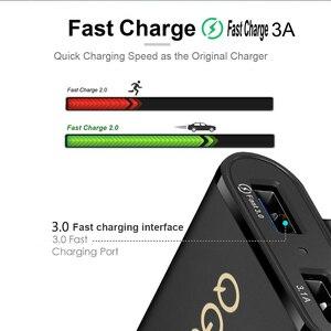Image 5 - QGEEM 4 USB QC 3.0 Xe Ô Tô Quick Charge 3.0 Điện Thoại Trên Ô Tô Nhanh Mặt Trước Sau Adapter Sạc Xe Ô Tô Di Động Sạc cắm Dành Cho iPhone