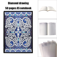 DIY Special Shaped Diamond Painting 50 Pages Butterfly Student Notebook Notepad Household Supplies 207x142x8mm Newst
