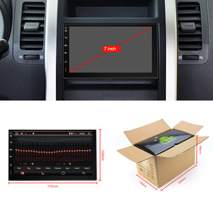Image 2 - Eunavi 2 Din Universal Car Mutimediaวิทยุเครื่องเล่นวิทยุGPSนำทางอัตโนมัติAndroid 2din Headunit IPS TDA7851 4G 64GB DSP WIFI