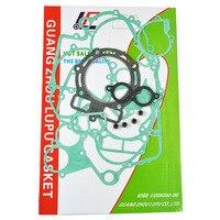 For KTM450 KTM520 KTM525 Motorcycle engine gaskets cylinder gasket Crankcase Covers kit set