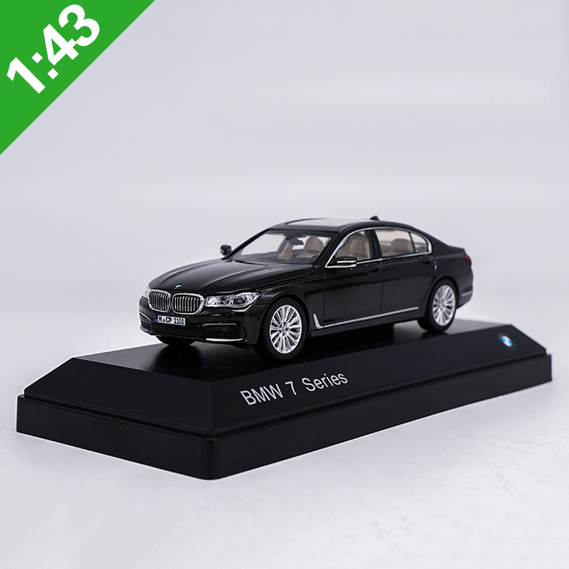 1/43 Scale New German Alloy Car Model 750Li / 760Li Classic Die-casting Model Car Toy Children Gift Collection Home Decoration