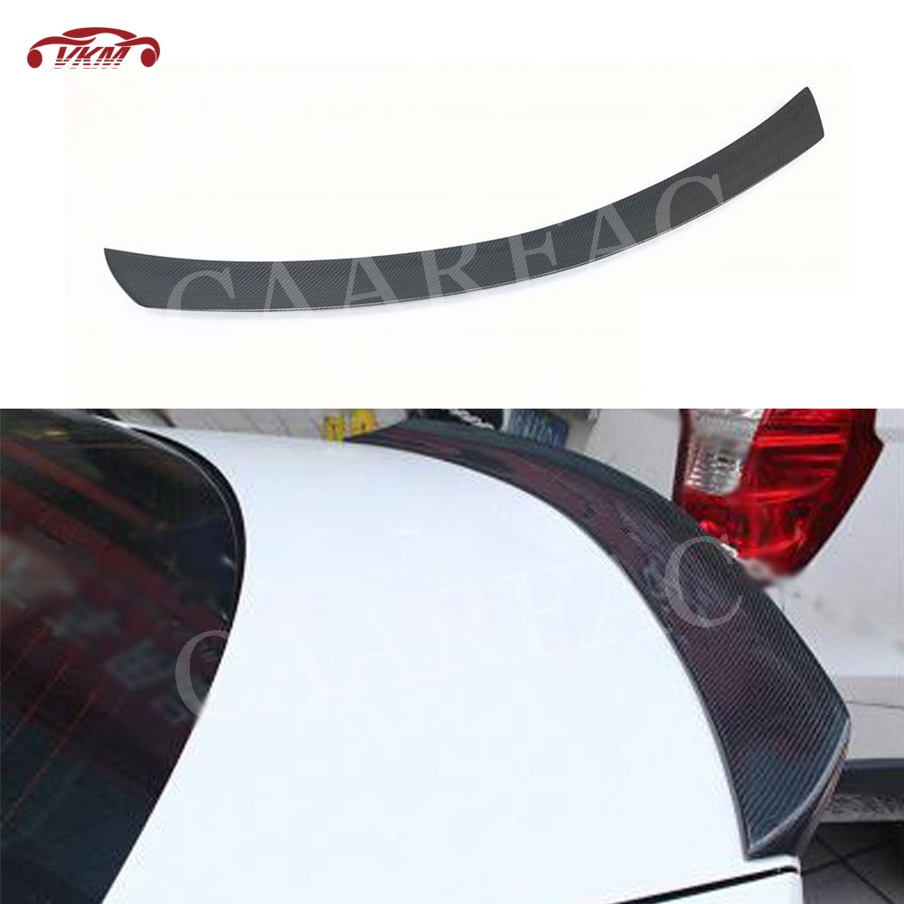 Carbon Fiber Rear <font><b>Spoiler</b></font> For <font><b>Mercedes</b></font> <font><b>Benz</b></font> <font><b>C</b></font> <font><b>Class</b></font> <font><b>W204</b></font> AMG <font><b>Spoiler</b></font> 2008-2011 FRP V Style Boot Trim <font><b>Spoiler</b></font> image