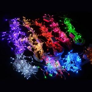 Image 3 - 4 M Led Luci Stringa Tenda Ghiacciolo di Fata Festa di Natale a Casa Della Decorazione Fata Luci Led per La Cerimonia Nuziale Nuovo Anno