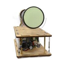 Kreative oszilloskop uhr 8SJ31J oszilloskop fahrer bord oszilloskop uhr elektronische diy kit