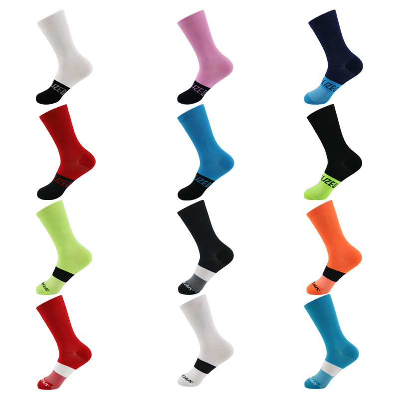 2020 Women Men Cycling Sport Socks Breathable Spring Summer Riding Climbing Hiking Socks Stocking