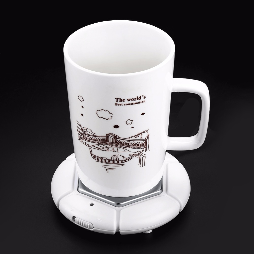 Electric Cup Heater USB Cup Warmer Heat Beverage Mug Mat Keep Drink Warm Heater Mugs Coaster