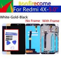 5.0 Original Para Xiaomi Redmi 4X Display LCD de Toque Digitador Da Tela de Substituição Assembleia Quadro Para Redmi4X 1280*720