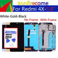 """5.0 """"oryginalny dla Xiaomi Redmi 4X ekran dotykowy Digitizer zamienny zestaw ramy dla wyświetlacza LCD Redmi4X 1280*720 w Ekrany LCD do tel. komórkowych od Telefony komórkowe i telekomunikacja na"""