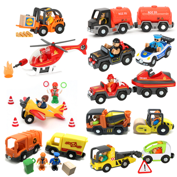 цена на w130 Free Shipping  Baby Toy Construction Vehicles Forklifts,trailer,car Child Education League Model Toy Cars Childrens Gifts