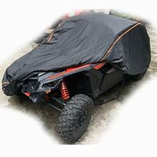 UTV 210D оксфордская ткань Защитный чехол для хранения автомобиля от дождя, грязи, лучей-отражающий для Can Am Maverick X3 X