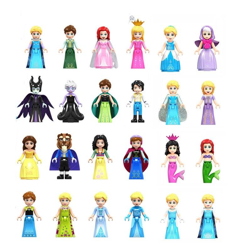 8Sets Girl Friends Mia Olivia Emma Andrea Mini Figure Lego Moc Figure Blocks Toy