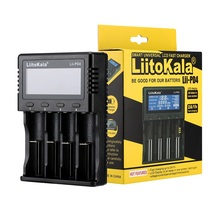LiitoKala lii PL4 lii PD4 18650/26650/18350/16340/18500 bateria litowa 1.2V 3.2V 3.7V 3.8V AA AAA NiMH 110 220V ładowarka DC