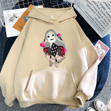 Yomozuki Runa Hoodie Anime Kakegurui Momobami Sweatshirt Kakegurui Runa Yomozuki Hoodie Clothing Aesthetic Streetwear kawaii