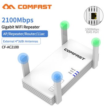 used tp link tl wdr3320 600m 2 4 5ghz dual band wireless network router 4 antenna Dual Band 2100Mbps WiFi Extender Internet Signal Booster Wireless Repeater 2.4GHz 5GHz Wi-Fi Range Amplifer Router 4*3di Antenna