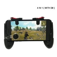 PUBG controlador Moible Gamepad libre Fire L1 R1 disparadores PUGB juego móvil Pad Grip L1R1 Joystick para iPhone teléfono Android(China)
