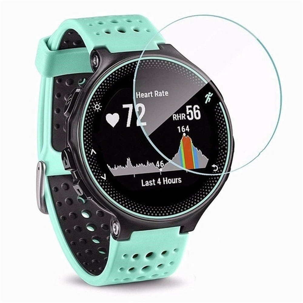 For Garmin Forerunner 235 225 735XT Tempered Glass 9H Screen Protector Film For Garmin Smart Watch Screen Protector