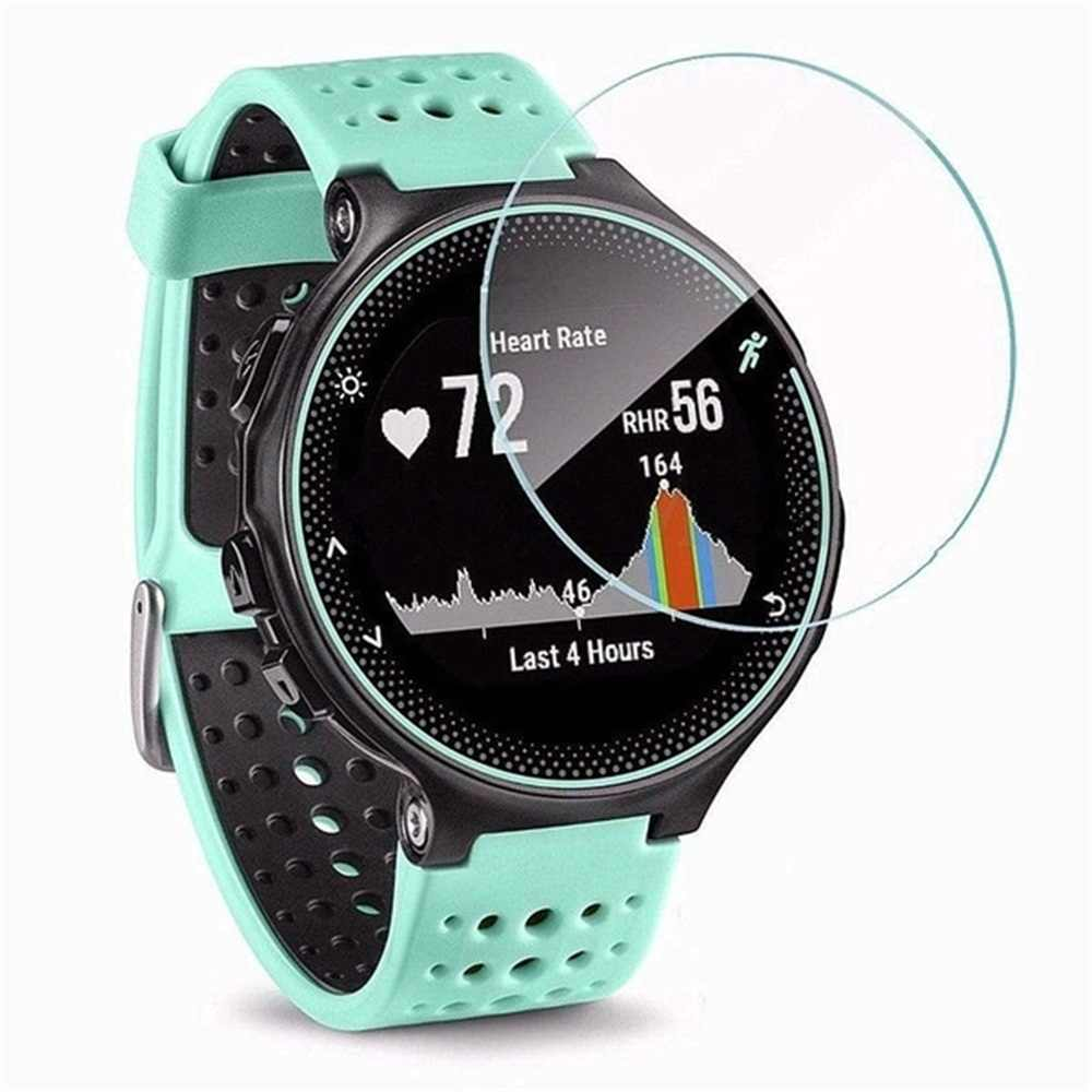 Untuk Garmin Forerunner 235 225 735XT Tempered Glass 9H Screen Protector Film untuk Garmin Smart Watch Screen Protector