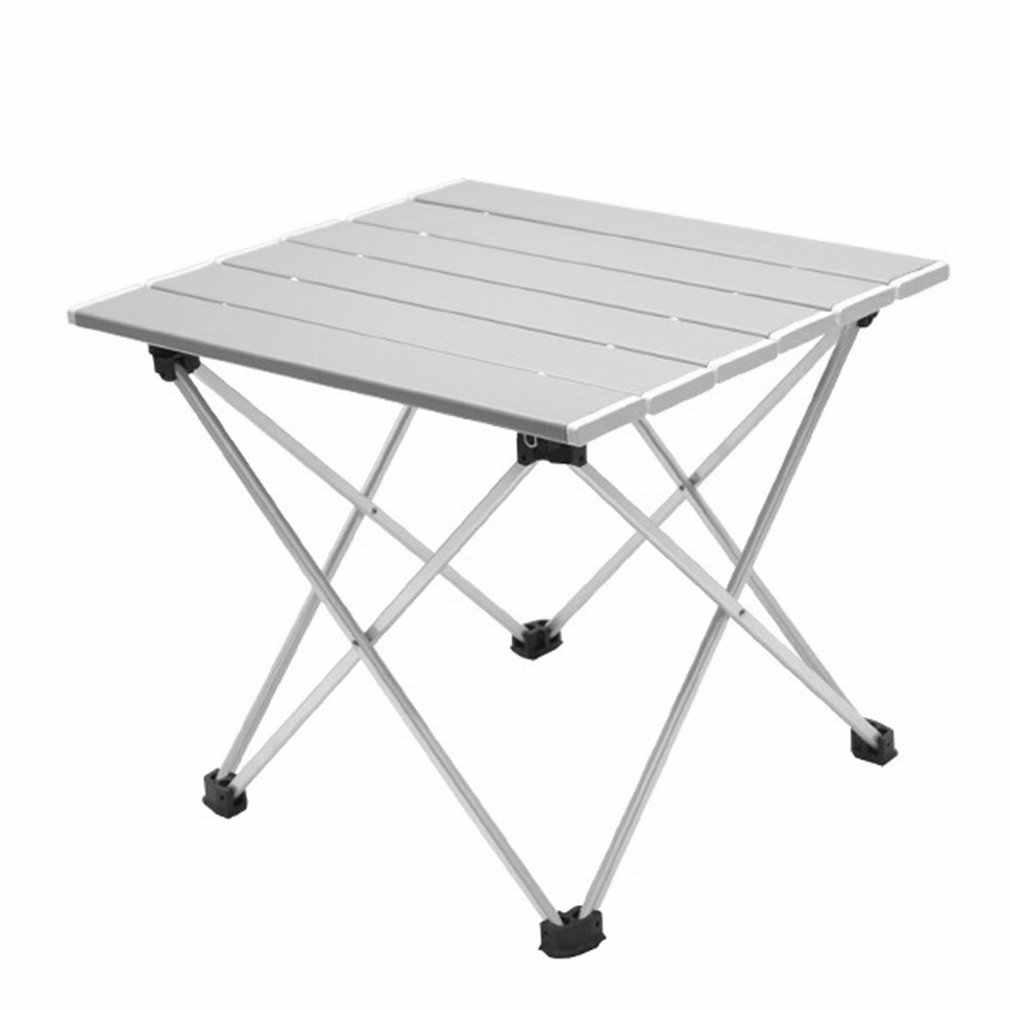 Aluminum Folding Camping Picnic Table Garden Portable Outdoor Furniture BBQ Lake