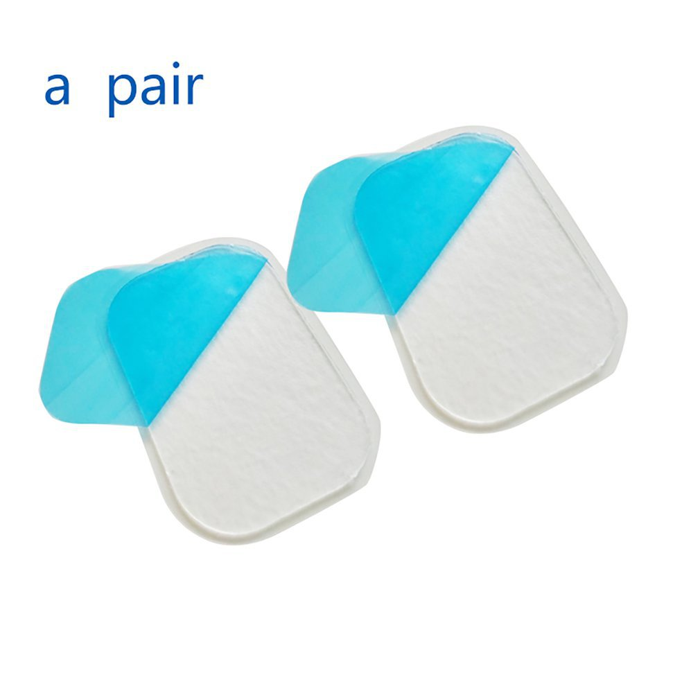 Hydrogel Gel Sticker EMS Trainer Muscle Stimulator Gel Pad Abdominal Fitness Abdominal Weight Loss Massager Gel 1 Pair