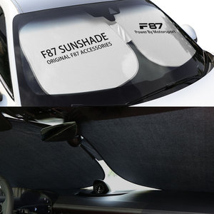 Image 3 - אביזרים לרכב עבור F10 F20 F30 F31 F11 F34 F01 F12 F18 F32 רכב שמשה קדמית שמשיות שמשייה כיסוי אוטומטי אנטי UV רפלקטור