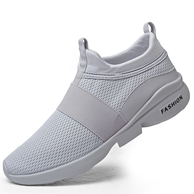 H1dd5f1308cc64bd9bbc686c6890b7ed2Y Flyknit Men Shoes Light Sneakers Men Breathable Jogging Shoes for Men Rubber Tenis Masculino Adulto Plus 35 46 48